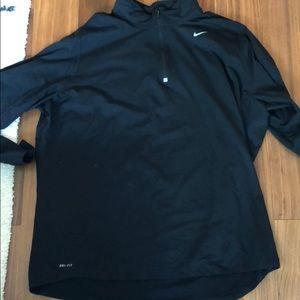 Nike Dri Fit half Zip - Black